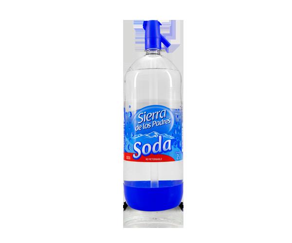 Soda sifón Sierra de los Padres