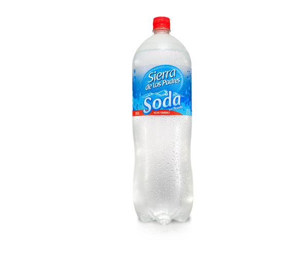 Soda botella Sierra de los Padres